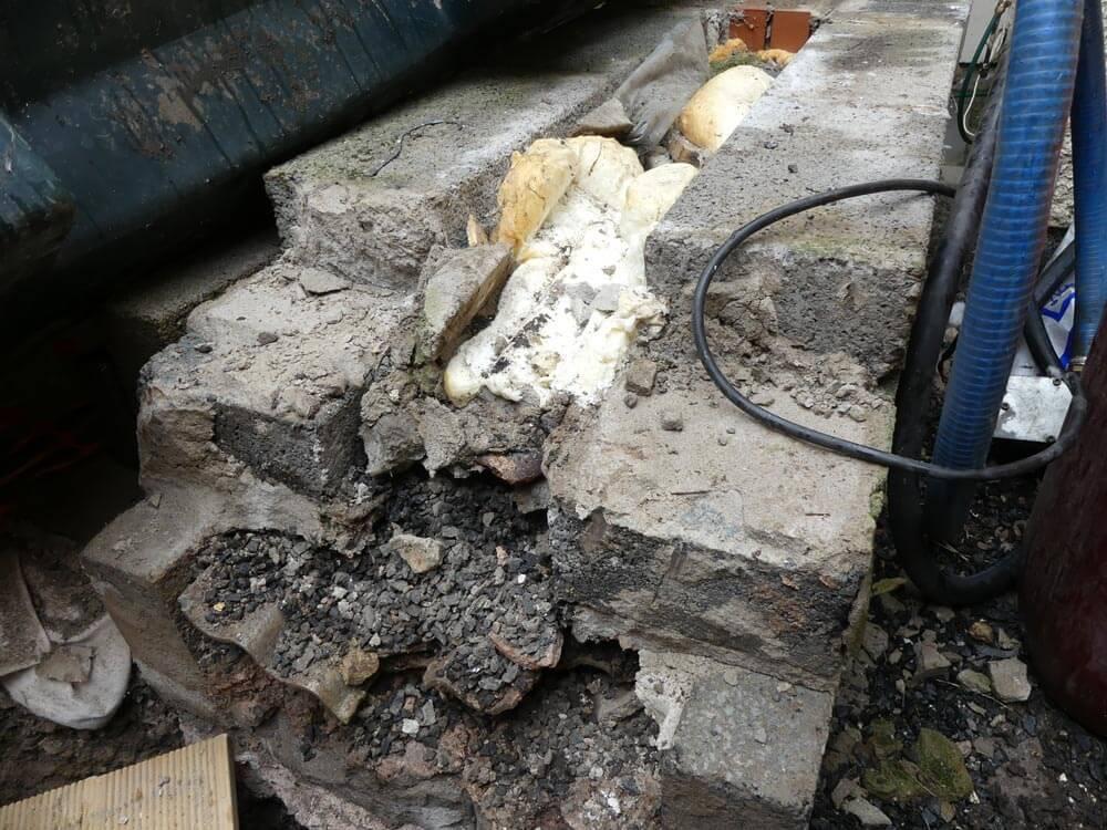 Asbestos Debris Cleaning